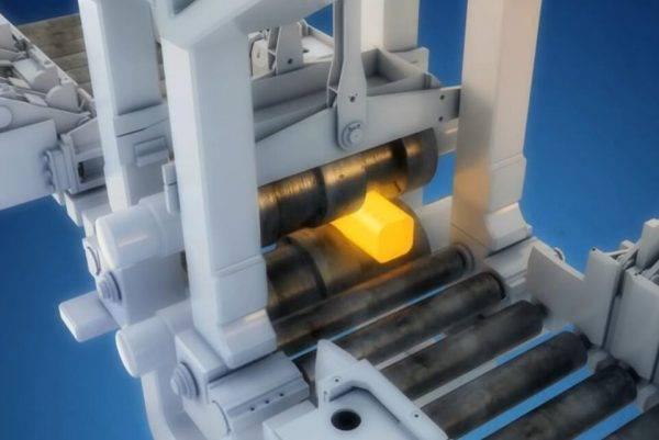 炼钢工艺流程展示动画
