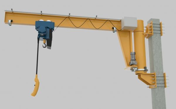 吊臂起重机系统动画