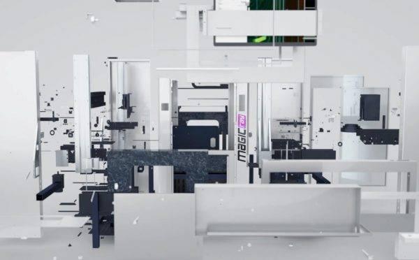 明锐AOI设备S3000展示动画